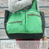 Free Purse Pattern - perfect for winter