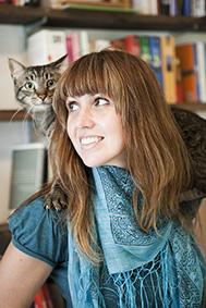 A pesquisadora Luciana Walther e seu Temaki (Foto: arquivo pessoal)