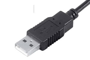 USB Type A Male connection