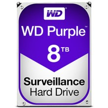 WD Purple 8TB Surveillance Hard Drives for CCTV