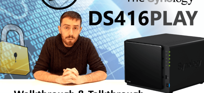 The Synology DS416PLAY Multimedia 4K NAS Walkthrough and Talkthrough with SPAN