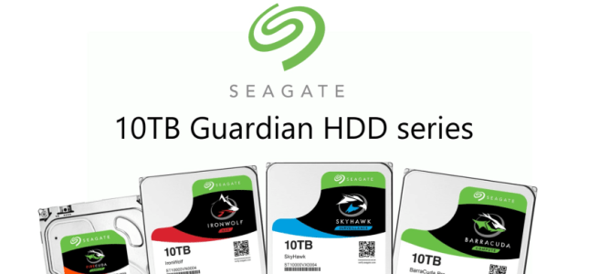 The New Seagate 10TB Guardian Series HDDs Explained - Ironwolf, Skyhawk, FireCuda and BarraCuda Drives