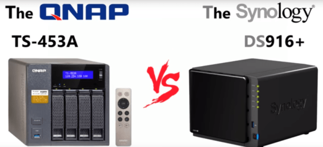 The Synology DS916+ vs The QNAP TS-453A - The Synology v QNAP 4-Bay NAS Compare