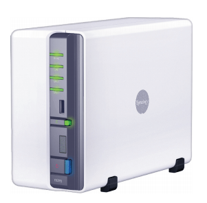 The Synology DS209j NAS Server 3rd Generation Network Attached Storage Server