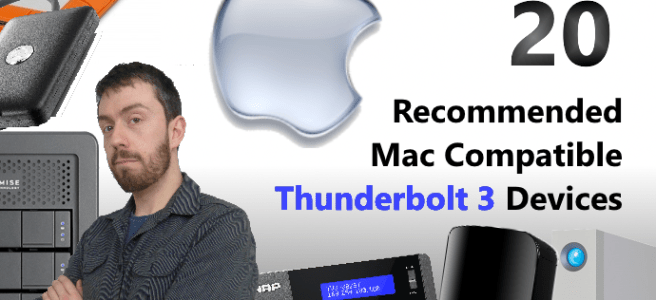 The Top 20 Recommended Apple Mac Compatible Thunderbolt 3 devices for 2017