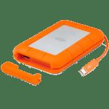 The LaCie Rugged RAID Dual HD, RAID, USB3,Thunderbolt2 Unboxing 4TB STFA4000400 LAC9000601 5