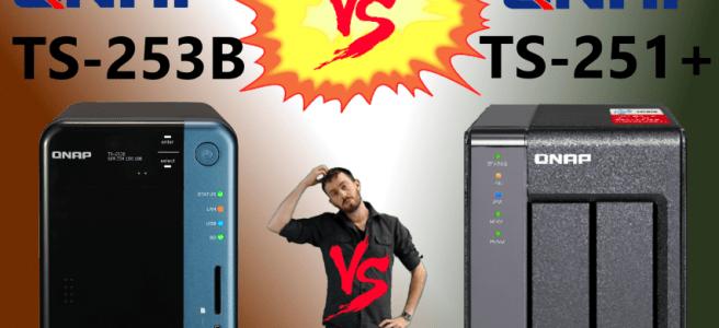 The QNAP TS-253B Versus QNAP TS-251+ NAS