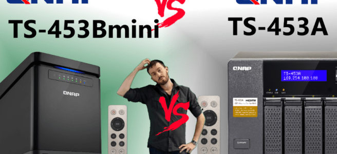 The QNAP TS-453Bmini NAS Versus TS-453A NAS - New NAS vs Old NAS, Big v Small
