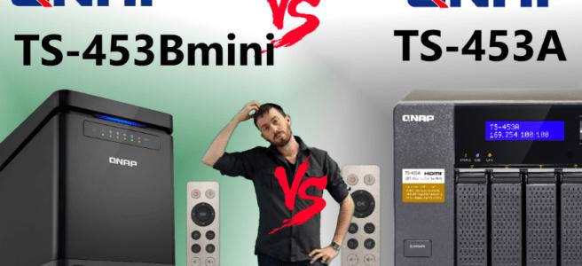 The QNAP TS-453Bmini NAS Versus TS-453A NAS - New NAS vs Old NAS, Big v Small