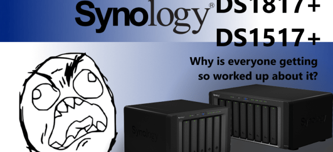 The Synology DS1817+ and DS1517+ CPU Avoton NAS – An Update on release