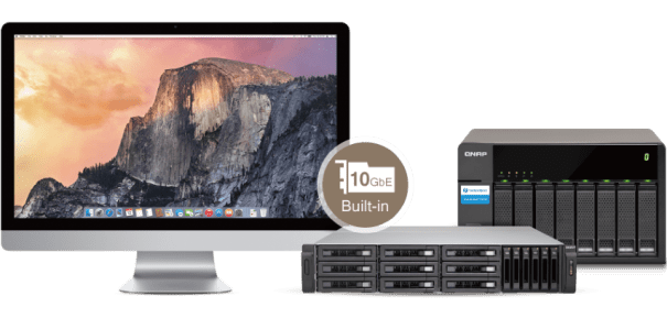 The QNAP TVS-1582TU finally revealled The Thunderbolt 3 High Application (Mac + JBOD)