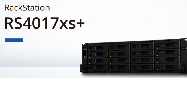 The Synology RS4017xs+ 16-Bay RackStation NAS Unboxing and Walkthrough