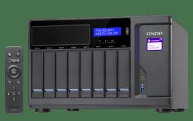 The Optical Media Optimised QNAP TVS-882BRT3 Thunderbolt 3 8-Bay NAS 5