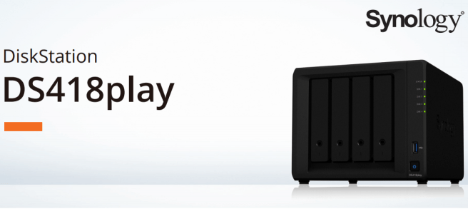 The Synology DS418PLAY 4-Bay Diskstation Multimedia NAS Server 1