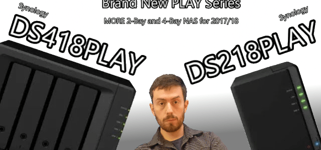 ds418play synology ds218play nas server
