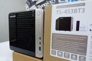 QNAP TS-453BT3 size
