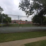 Fannie Mae Dees Park - Tennis Courts