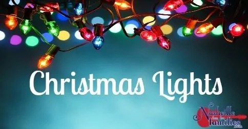 Christmas Lights –  Nashville & Middle Tennessee