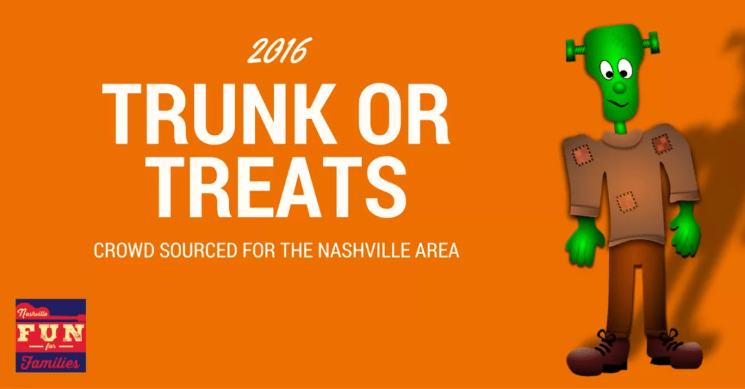 2016 Nashville Area Trunk or Treats