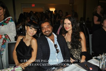 Actress Bai Ling, Director Anurag Kashyap, Actress Natasha Blasick
