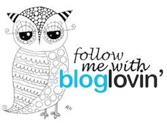 Follow me on bloglovin!