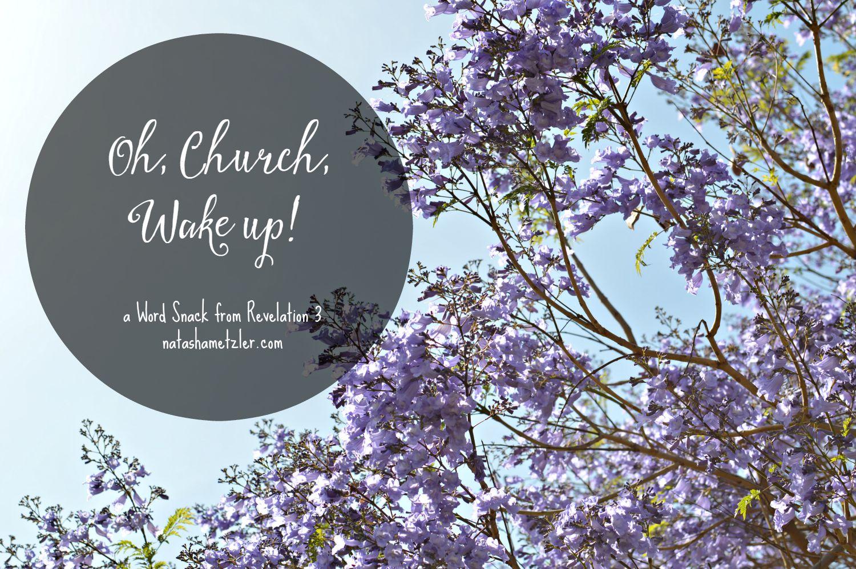 Oh, Church, Wake Up! #WordSnacks
