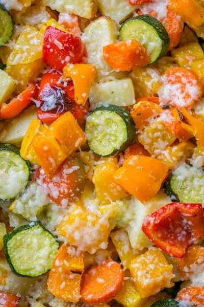 Roasted Vegetables Recipe - Great Holiday Side Dish!