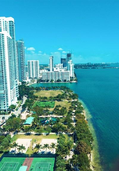 Workcation   High-Rise Views - Miami Condo