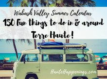Summer Calendar for Terre Haute and the Wabash Valley