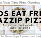 Kids Eat Free at Azzip Pizza!