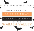 Trick or Treat and Trunk or Treat in Terre Haute and the Wabash Valley