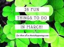 Things to do in March in Terre Haute, Indiana