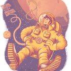 Howard in Space!