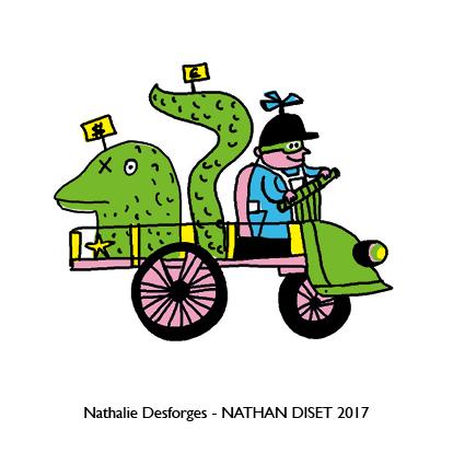 Nathalie Desforges jeu de cartes orthographe - Nathan Diset55