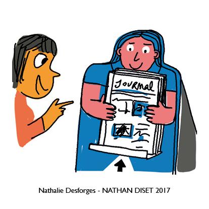 Nathalie Desforges jeu de cartes orthographe - Nathan Diset61