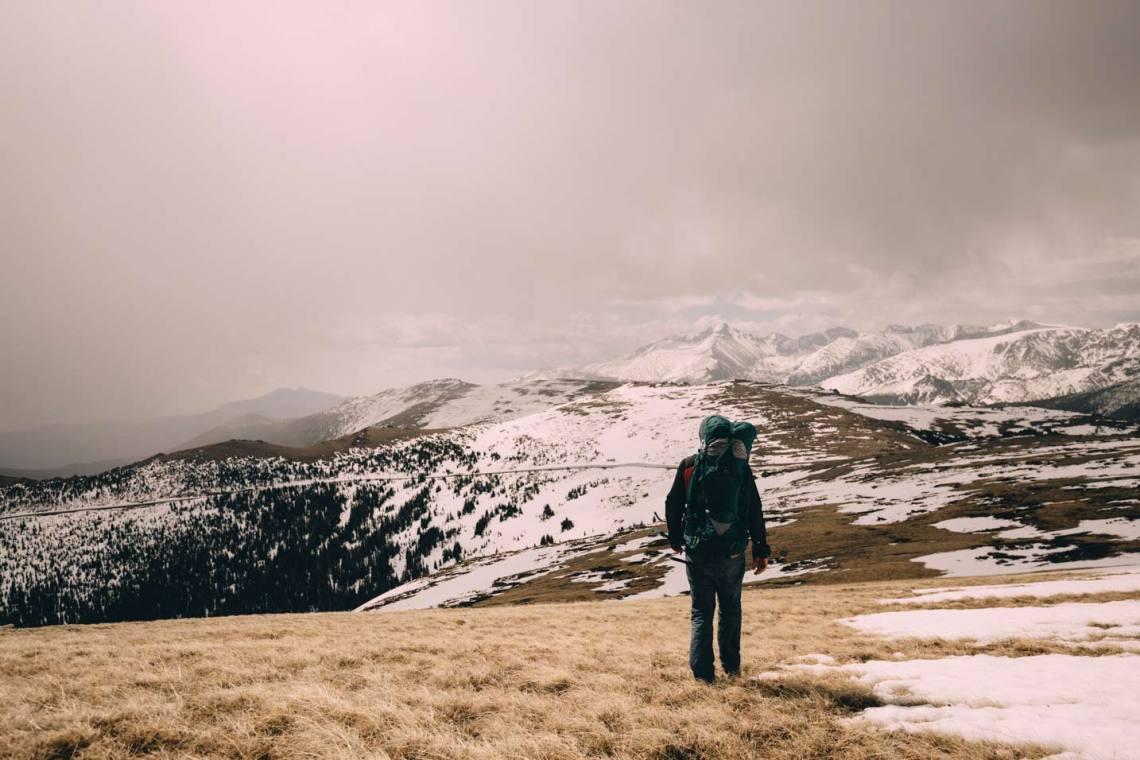 Andres on Sundance Mountain.
