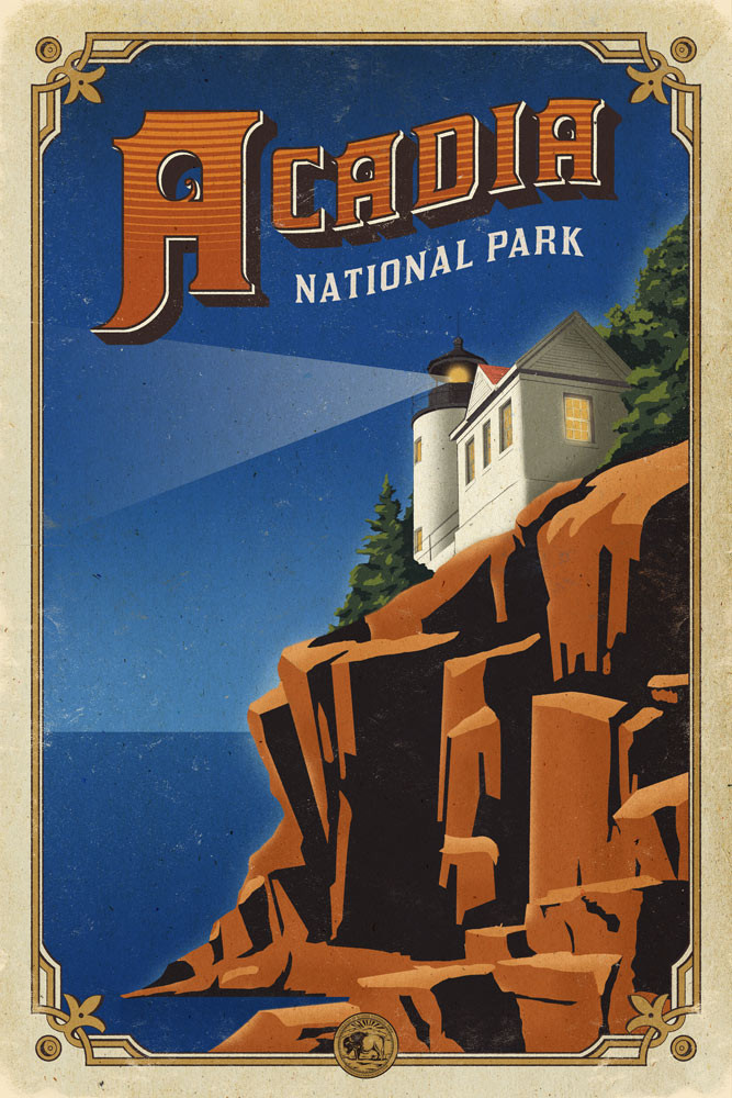 acadia_national_park_poster