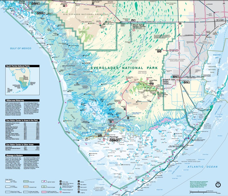 everglades_national_park_map