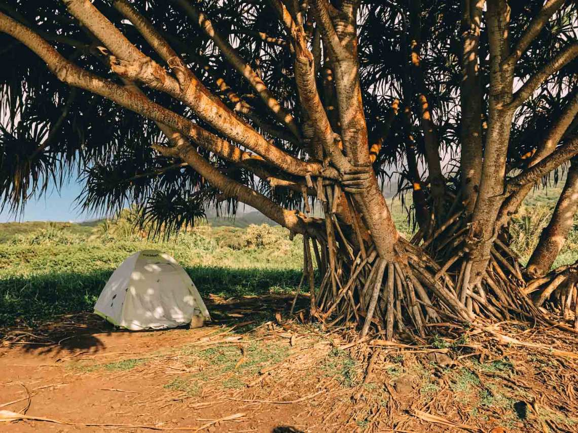discovering_aloha_hawaii_tent