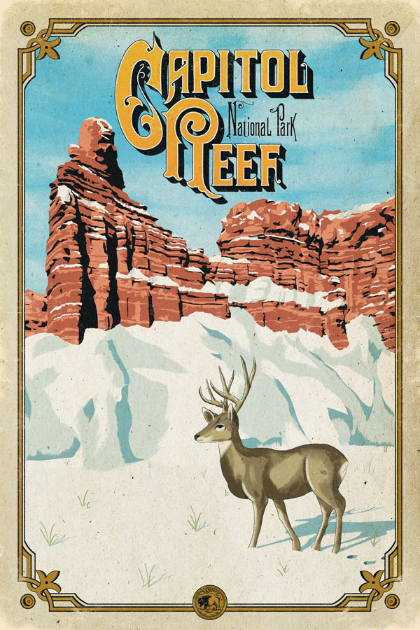 capitol_reef_poster_national_park_quest