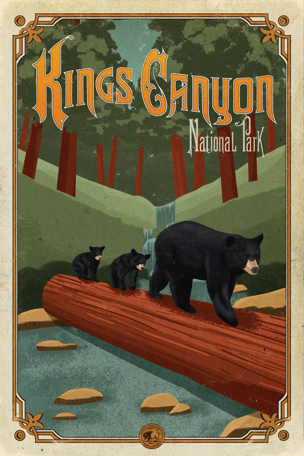 Kings_Canyon_poster_national_park_quest