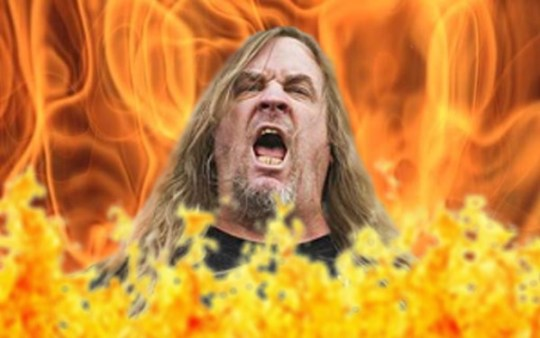 Jeff Hanneman Burns In Hell