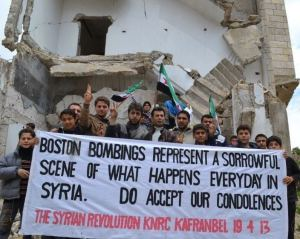 Syria is a long way from Boston.