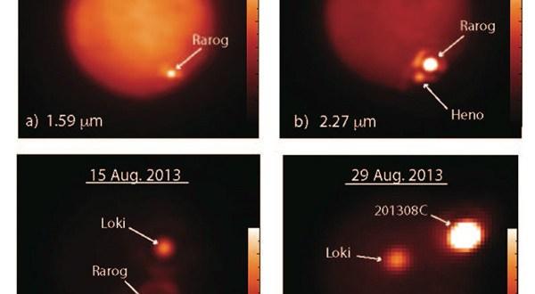 Massive volcanic outbursts on Jupiter's moon
