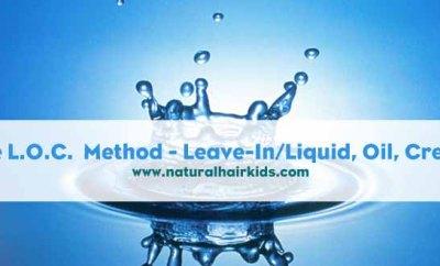 LOC method for moisture retention