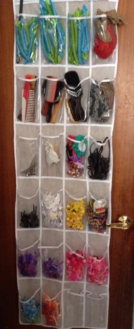 hair accessory organizer