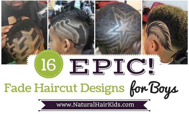 Fade Haircut designs for boys