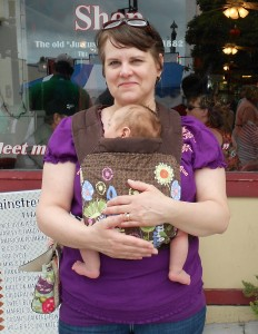 Freehand Mei Tai Review - Carry Me Baby Carrier Lending Service