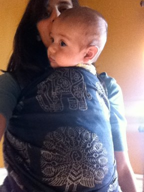 Didymos India Tussah Blend: A Little Bit of All of It