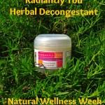 Radiantly You Herbal Decongestant